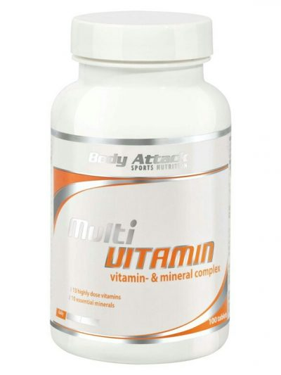 Body Attack multi vitamin 100 tablets