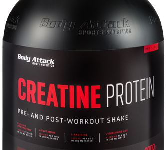 Body Attack creatine protein 2 kg 40 servings
