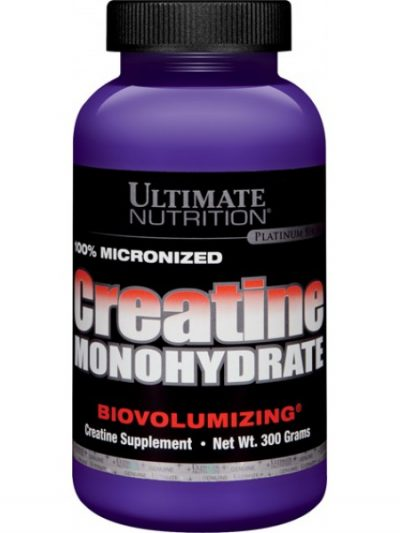 Ultimate Nutrition creatine monohydrate 300 g 60 მიღება