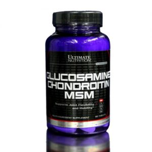 Ultimate Nutrition glucosamine chondroitin msm 90 tablets