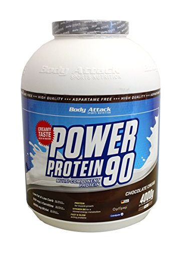 Body Attack Power Protein 90 4000 g 136 servings