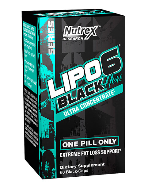 Nutrex lipo 6 black ultra concentrate hers 60 caps