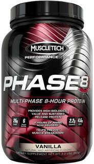 Muscletech phase 8 907/2100 g 22/50 servings