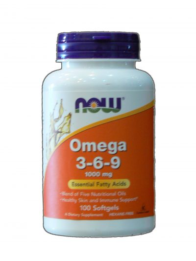 Now foods Omega 3 6 9 . 100 softgels