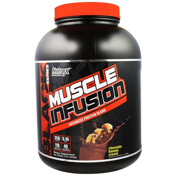 Nutrex muscle infusion 2.268 kg 63 მიღება